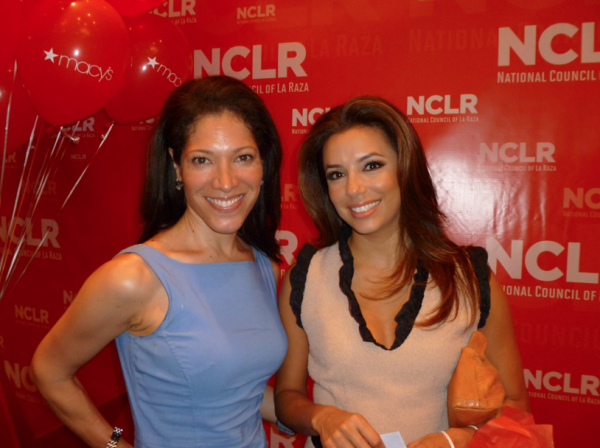 Viviana Hurtado & Eva Longoria at NCLR Latinas' Brunch