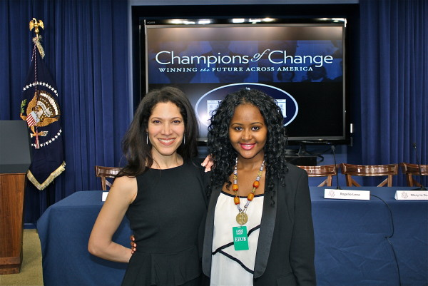 The Wise Latina Club's Viviana Hurtado Moderates Champions of Change White House Panel