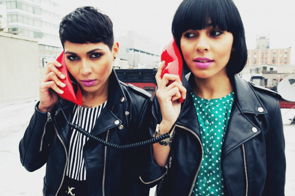 Nicole and Natalie Albino, the girls of Nina Sky. Courtesy: MadeMe Clothing/William Yan