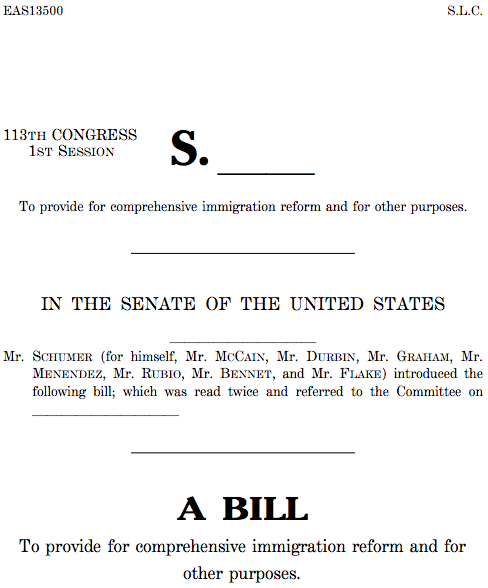 Immigration Bill: How to Make the Bad, Good