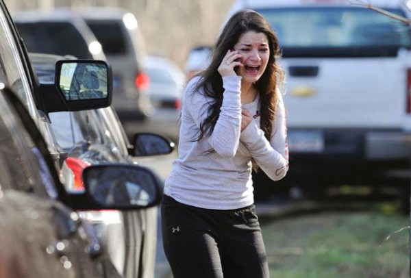Carlee Soto upon learning that her sister was gunned down at Sandy Hook Elementary School by Adam Lanza