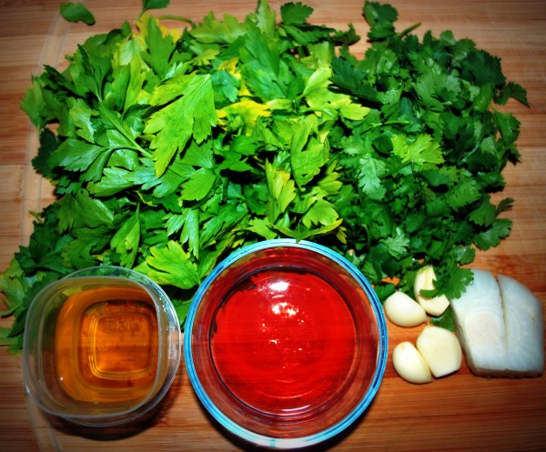 MeatlessMonday_Argentina_Chimichurri_Parsley_Ingredients-TheWiseLatinaClub-NatalieFierro