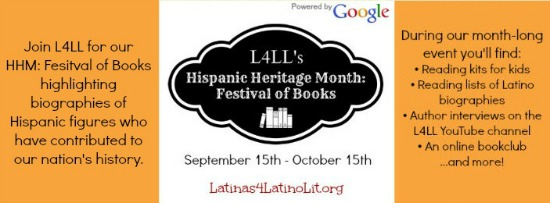 L4LL's Hispanic Heritage Month: Festival of Books