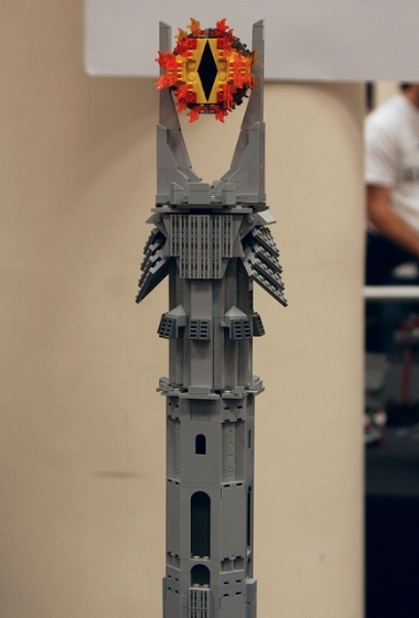 The eye of Sauron in Legos. I had to. You're welcome.