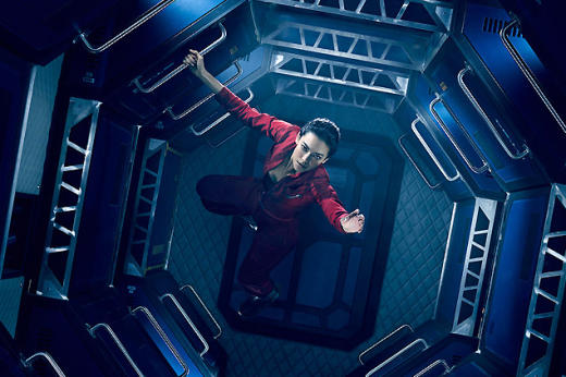 Florence Faivre as Julie Mao in  The Expanse
