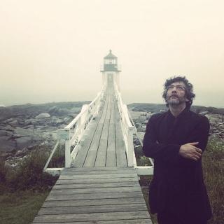 Neil Gaiman (Photograph:  Amanda Palmer )