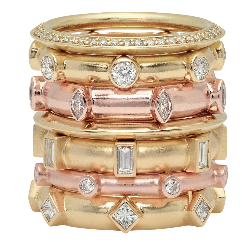 diamond japa prayer stack rings poe jewelry