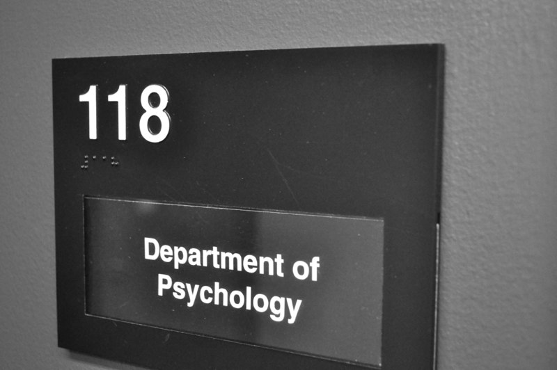 The psychology lab is located in Founders Hall Room 118
