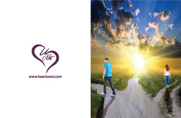 Unaligned - Break up Card by Heart U Not