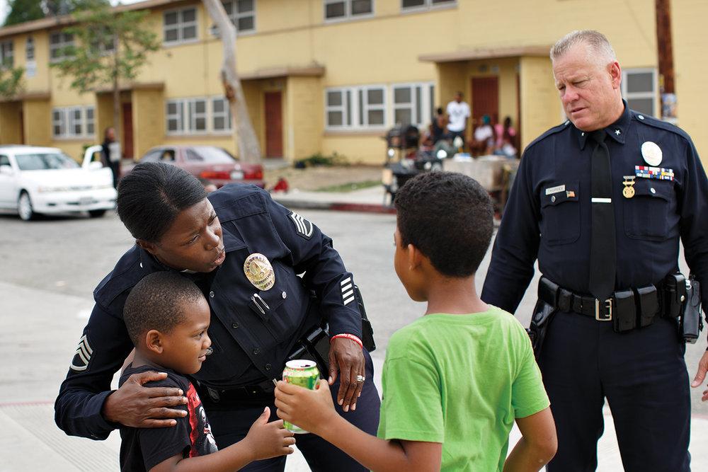 We helped LA Mayor Garcetti's Office improve the City's response to domestic violence.