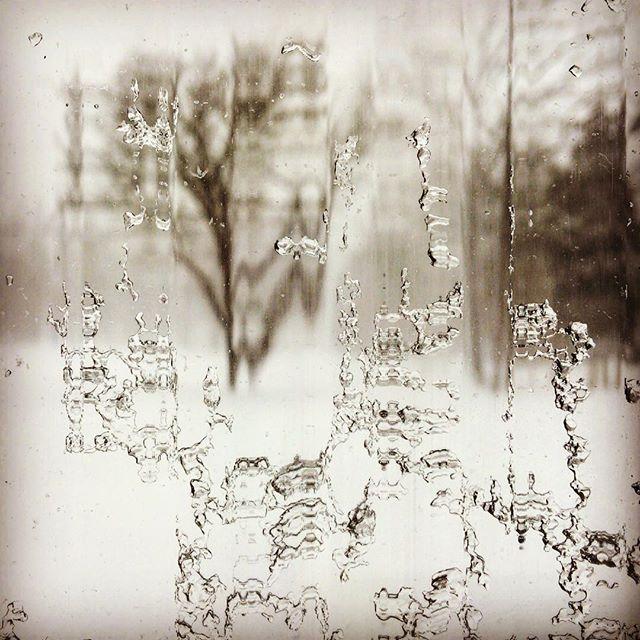 #winterwonderland #winter storm #slitscan photography