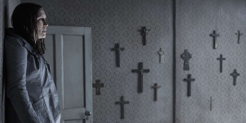 The Conjuring 2 starring Vera Farming and Patrick Wilson directed by James Wan. Image courtesy of Warner Bros. Pictures