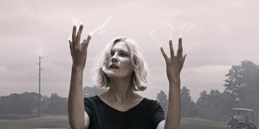 Melancholia directed by Lars Von Trier starring Kirsten Dunst