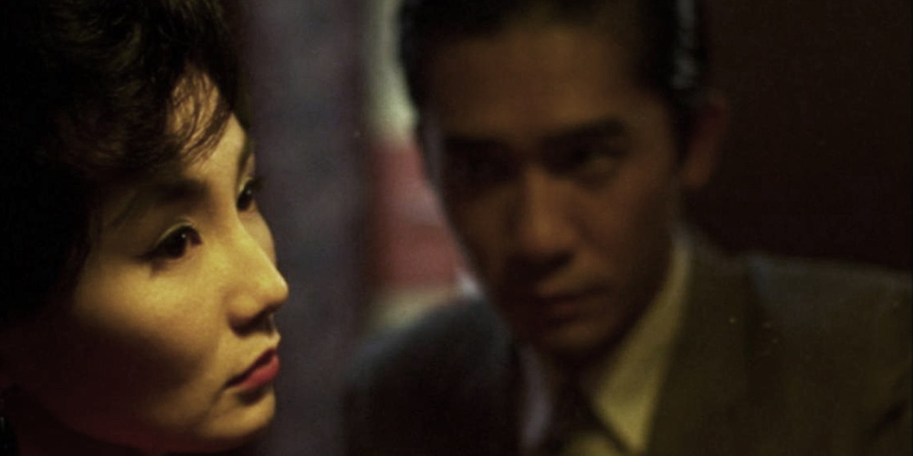 In The Mood For Love directed by Wong Kar-Wai starring Maggie Cheung and Tony Leung