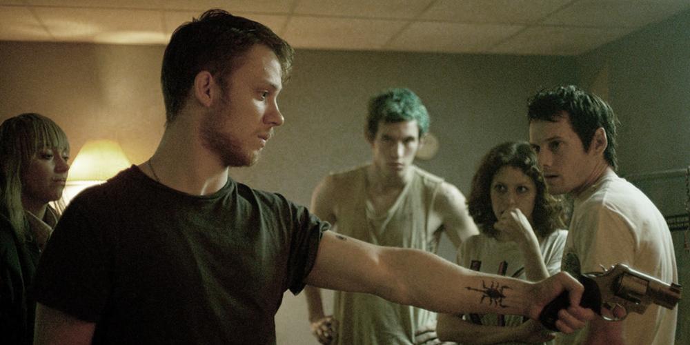 Green Room directed by Jeremy Saulnier starring Anton Yelchin, Imogen Poots, Patrick Stewart
