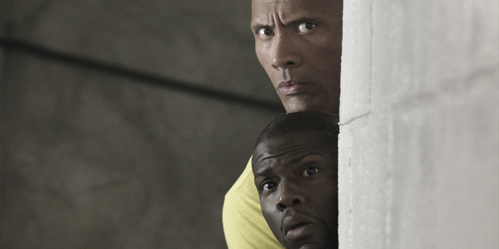 Central Intelligence starring Dwayne Johnson and Kevin Hart a comedy from Universal Pictures