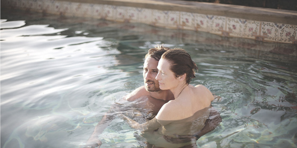 A Bigger Splash directed by Luca Guadagnino starring Tilda Swinton and Matthias Schoenaerts