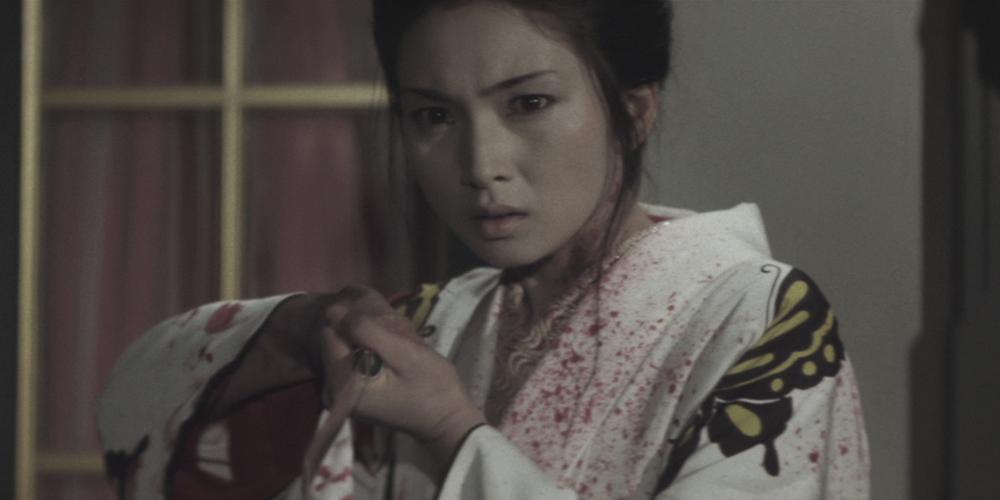 Lady Snowblood aka Shurayukihime directed by Toshiya Fujita starring Meiko Kaji