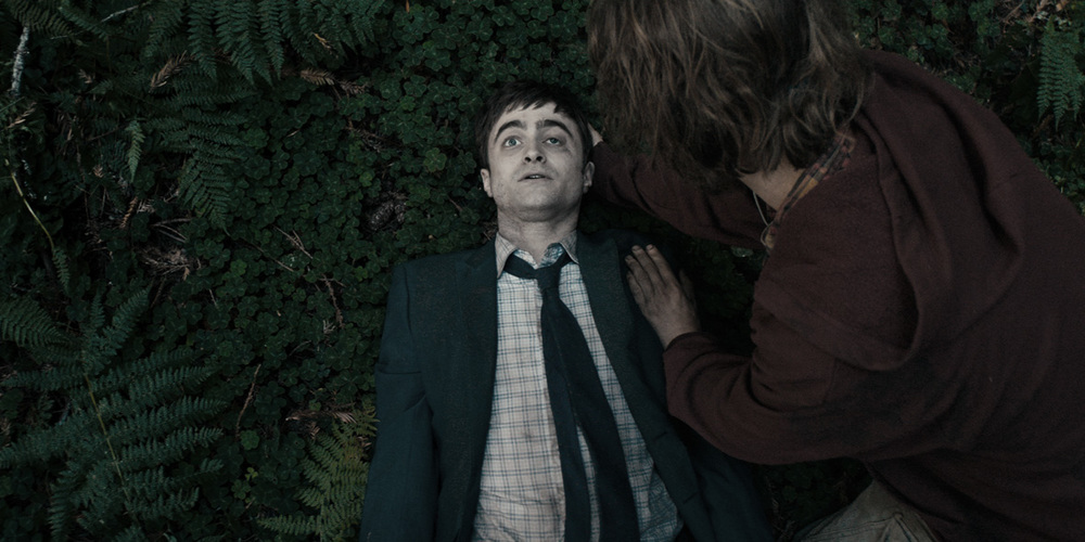 Swiss Army Man directed by the Daniels and starring Daniel Radcliffe and Paul Dano