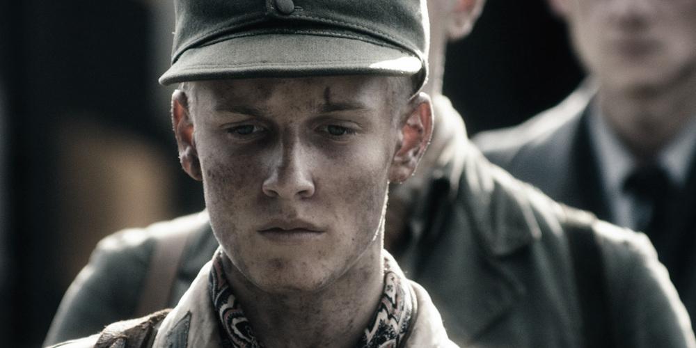 Land Of Mine Danish film directed by Martin Zandvliet starring Roland Moller