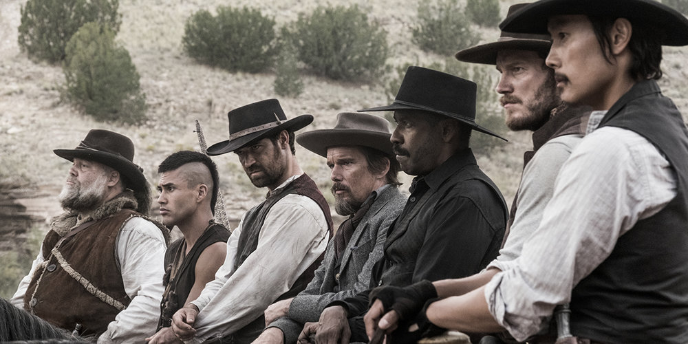 The Magnificent Seven starring Chris Pratt and Denzel Washington