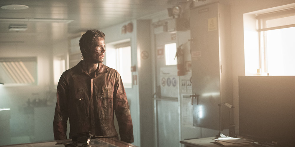 Deepwater Horizon starring Mark Wahlberg, John Malkovich, Gina Rodriguez and Dylan O'Brien