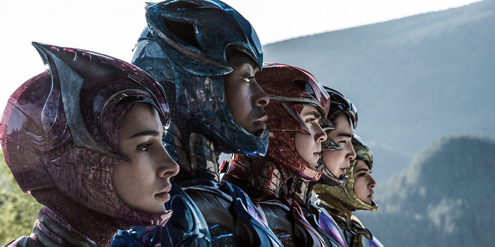 POWER RANGERS directed by Dean Israelite starring Elizabeth Banks. Image courtesy of Roadshow Films.