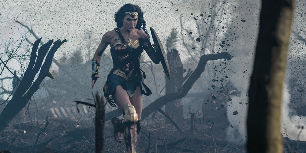 Wonder Woman starring Gal Gadot directed by Patty Jenkins. Image courtesy of Warner Bros Pictures.