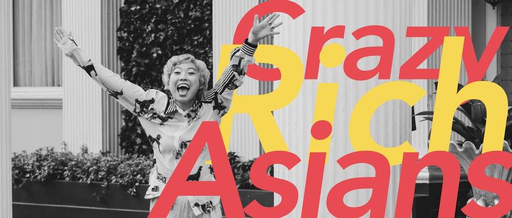 Crazy Rich Asians starring Awkwafina