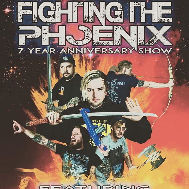 We want to take a second to congratulate Fighting the Phoenix on 7 years of killin' it! Huge shout out to everyone that packed the house last night, The Black Sheep and their staff, Ovira, The Endless Line, and October Skies! Thank you all ❤️❤️ #live #local #music #musicscene #anniversary #kittens #iridium #hardrock #metal @oviramusic @fightingthephoenix @officialoctoberskies @theendlesslineband @sodajerkpresents @theblacksheep