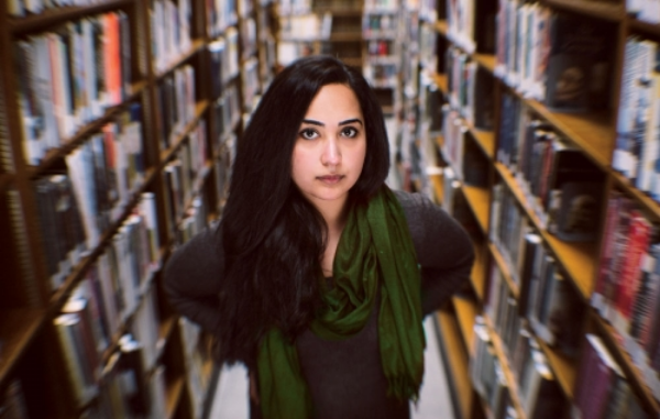 Mehreen Kasana, Pakistani-American writer and MA student at The New School. Photo courtesy of Elle India.