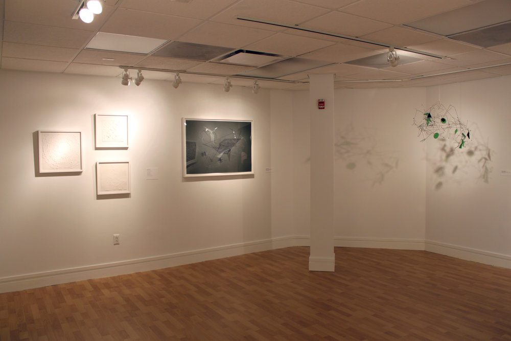 Installation photo of X-scapes