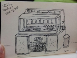 Jukebox sketch