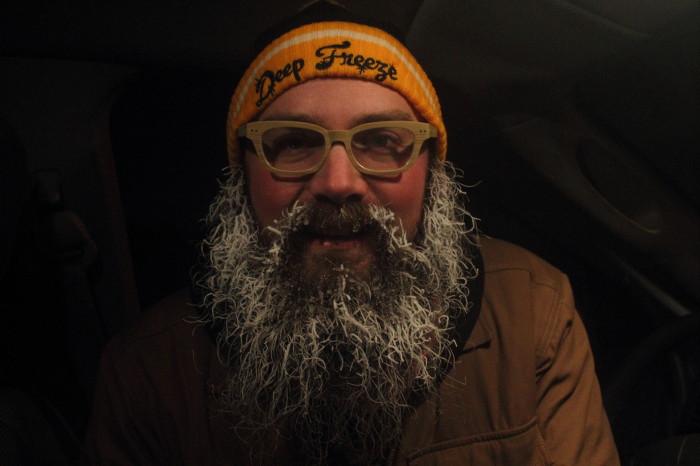 White beard
