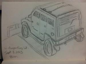 Hummer sketch