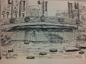 Fountains sketch