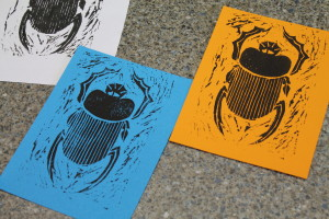 scarab prints