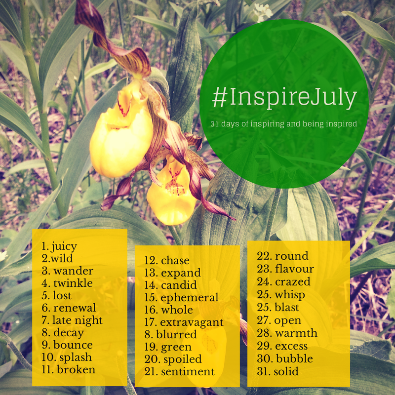 #InspireJuly