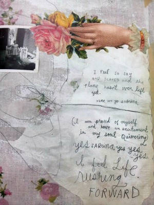visual journaling; Sabrina Ward Harrison
