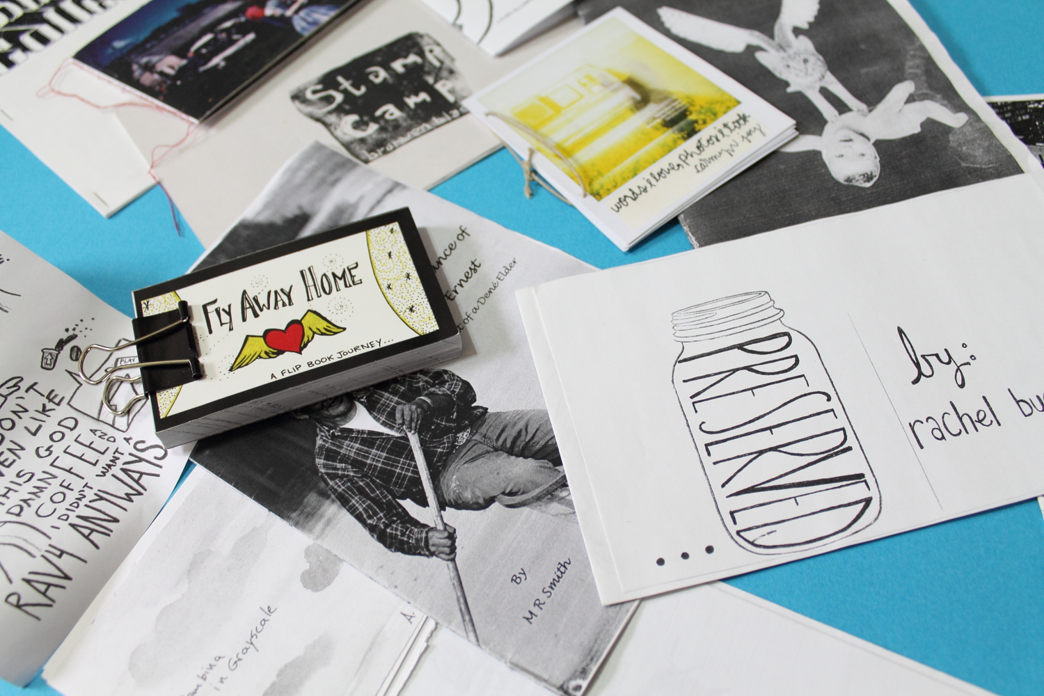 creative project idea making zines everyday artistry