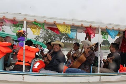 2015 Fiestas de la Candelaria, recorrido por el Río San Cristóbal, Minatitlán.