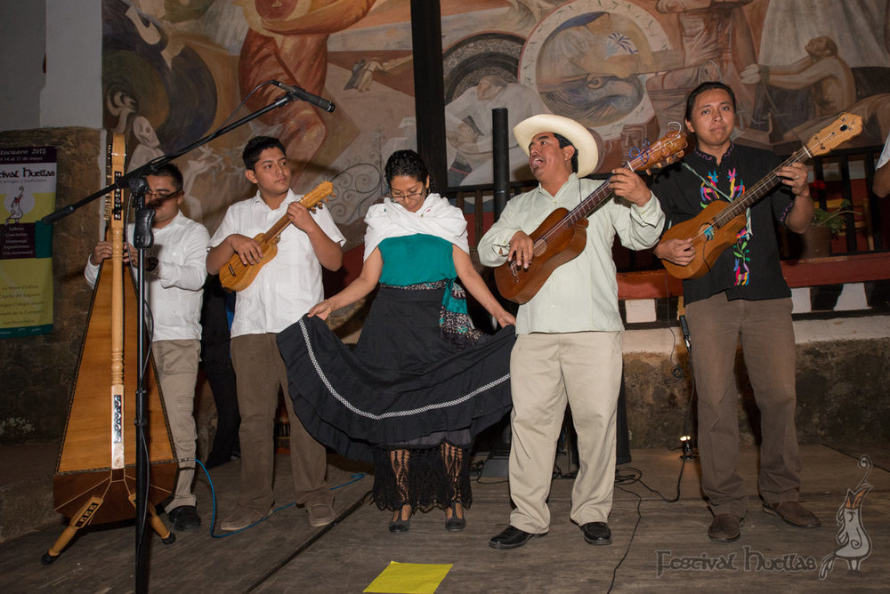 Festival Huellas 2015 Pátzcuaro, Mich.