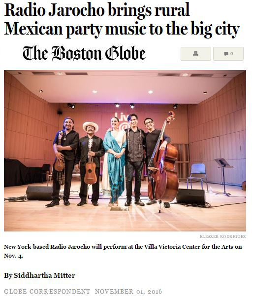 The Boston Globe nov. 2016