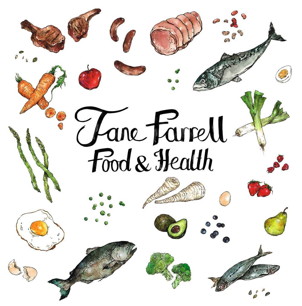 Jane Farrell Food & Health Blog