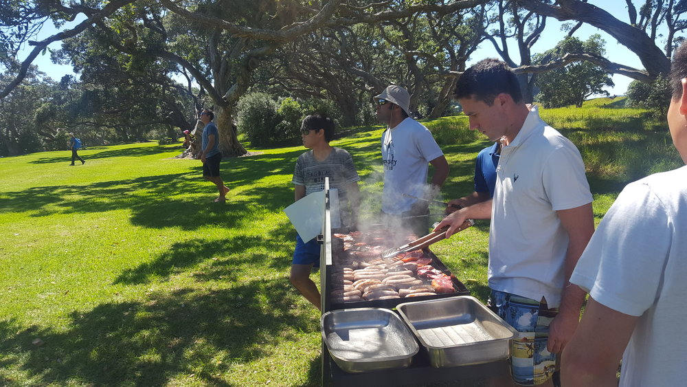 BBQ at Wenderholm - February 2017