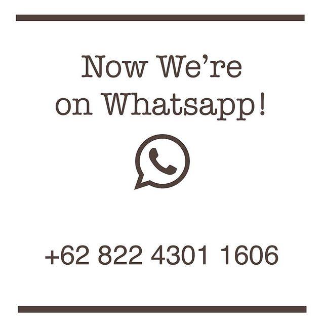 Saat ini sahabat Reserved bisa menghubungi kami lewat Whatsapp Chat !  Kami online whatsapps setiap hari Senin-Sabtu, mulai dari jam 09.00 sampai 18.00 Kami tunggu yaaaa ! Ps: bisa juga langsung click link di bio  #reservedmerch #pesankaosjogja #bikinkaosjogja #buatkaos #konveksijogja