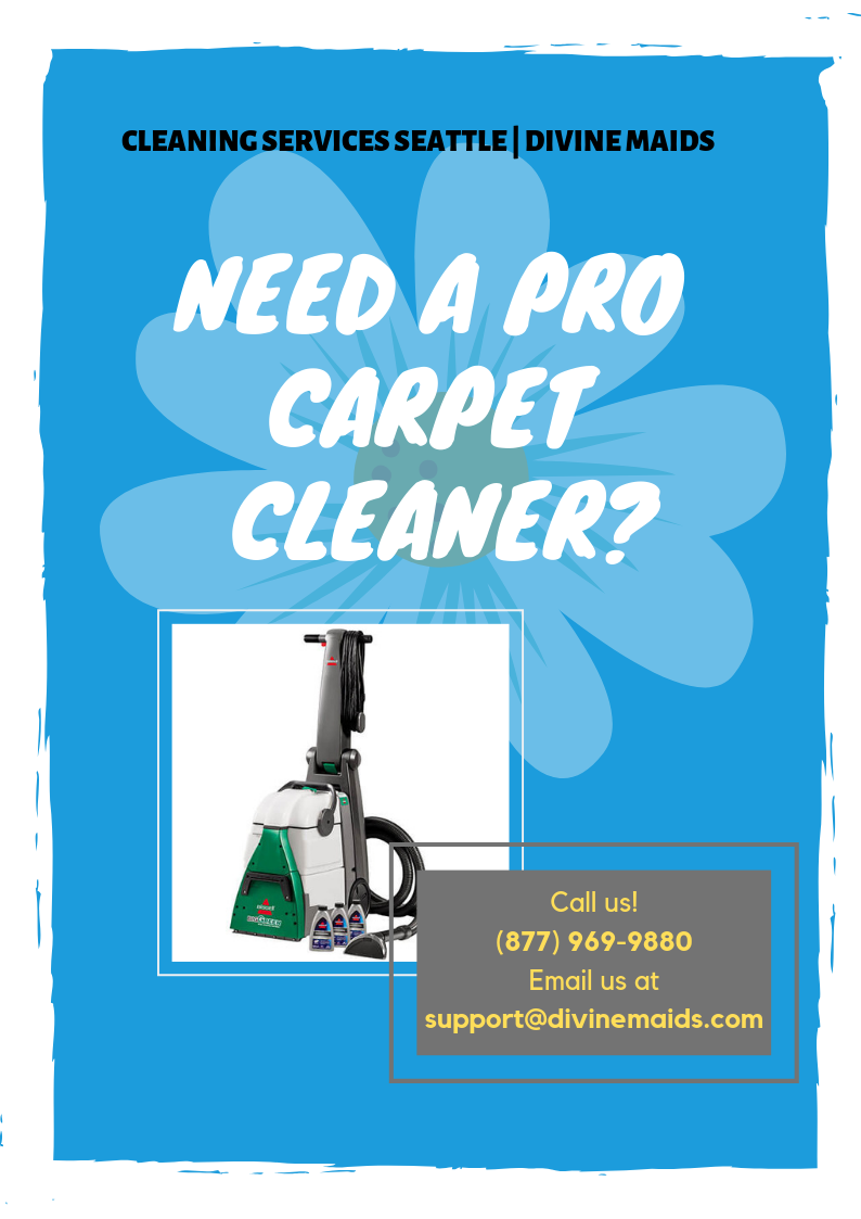 Carpet Cleaning Seattle by Divine Maids