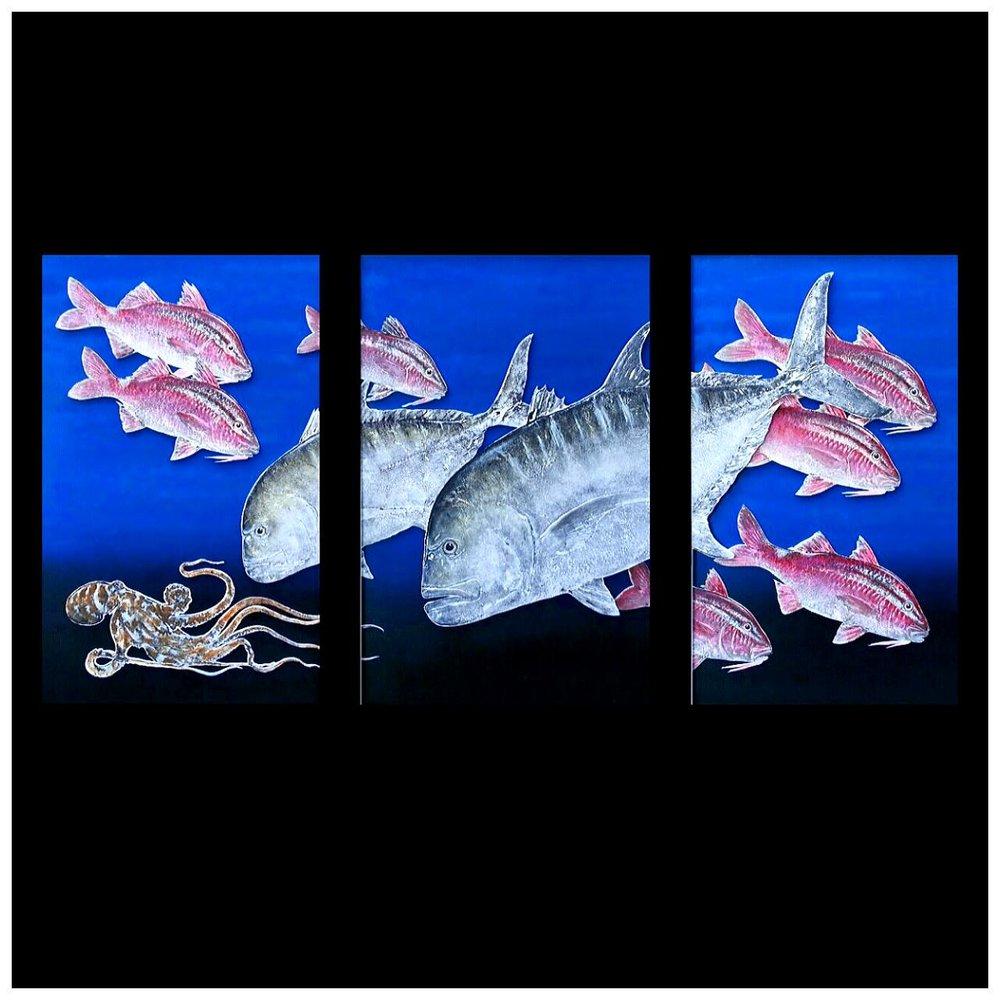Shane Hamamoto Gyotaku