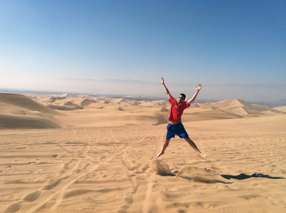 Sand Dunes?!