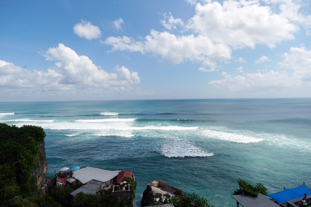 Uluwatu surf break